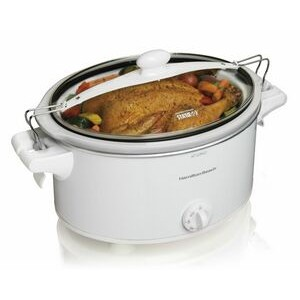 Hamilton Beach-Stay or Go 6 qt SC, White
