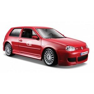 "7""x2-1/2""x3"" Volkswagen Golf R32 Die Cast Replica Car Full Color Logo"