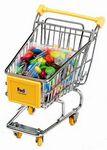 Custom Mini Shopping Cart With M&M's