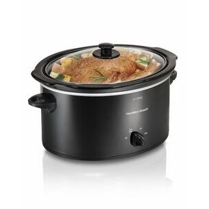 Hamilton Beach-HB 5 QT OVAL SLOW COOKER