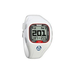 Bushnell - NEO Plus Golf GPS Watch - white