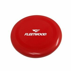 "10"" Style Hard Plastic Disc Red Flying Disc"