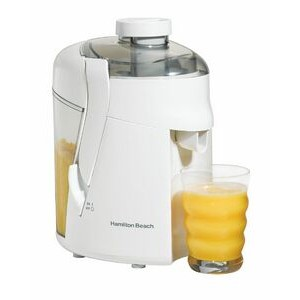 Hamilton Beach - JUICE EXTRACTORS - WHITE - 350W JUICE EXTRACTOR