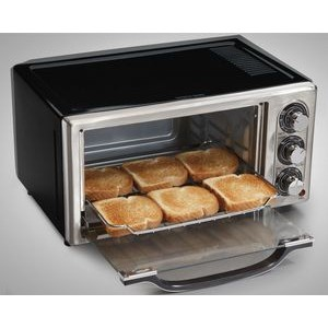 Hamilton Beach-6 SLICE STAINLESS STEEL OVEN