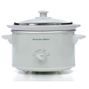 Hamilton Beach 1.5 Quart with Gasket Lid and Lid Latch, Slow Cooker