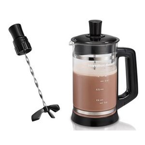 Hamilton Beach French Press w/ Cocoa Attachment