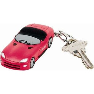 Dylan Lexi Sports Car Stress Reliever Keychain