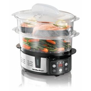 Hamilton Beach - RICE COOKERS - 2-Tier Food Steamer