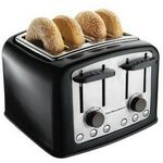 Custom Hamilton Beach 4 Slice Smart Toast Extra-Wide Slot Toaster
