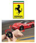Custom Ferrari Race and Play Remote Control Race Car