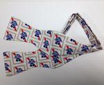 Custom 100 percent Polyester Wet Dye Self Tie Bow Tie