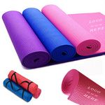 Custom PVC Yoga Travel Exercise Mats