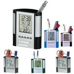 Custom Multi Functional Pen Holders / LED Calendars / Alarm Clocks