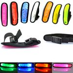 Custom PVC Reflective Flashing LED Light - Up Safety Armbands