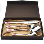 Custom 4 Pieces Travel Stainless Steel Cutlery Set