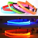 Custom LED Running Safety Flashing Waist Belts / Straps At Night