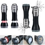 Custom Multi Functional Emergency Tools / LED Flashlight Torches / Safety Hammers
