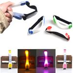 Custom Silicone Flashing Safety LED Light - Up Armbands