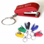 Custom Mini Key Chain Plastic Staplers