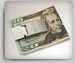 Custom Stainless Steel Two-Tone Money Clip