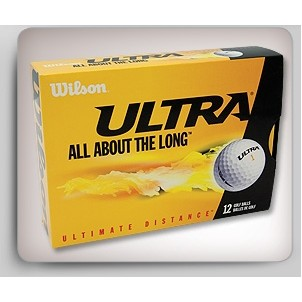 Wilson® Ultra Golf Balls - 12 Pack