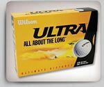 Custom Wilson Ultra Golf Balls - 12 Pack