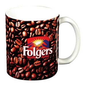 Full Color C Handle Mug - 11 Oz.