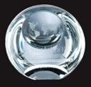 Custom Globe Dome Paperweight Award