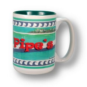 White with Green Interior Grande 2-Tone Mug - 15 oz.