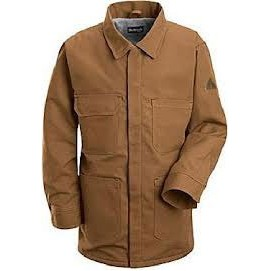 Brown Duck Lineman's Coat-Excel FR Comfortouch