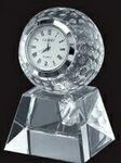 Custom Golf Ball Clock Award with Base