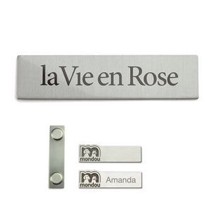 Custom Shaped Nametag (Domestic)