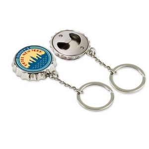 Bottle Cap Opener Key Chain (Photoart)
