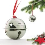 Custom Stock ball bell ornament.