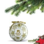 Custom Shatterproof Ball Ornament (Gold) with Gift Box