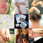 Custom Custom Temporary Metallic Tattoos - Small Single Tattoo