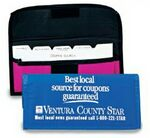 Custom Nylon Coupon Pack w/15 Index Cards Dividers