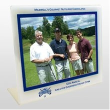 Easel Golf Picture Frame