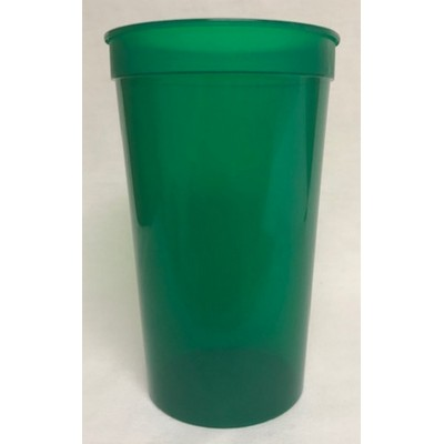 22 Oz. Stadium Cup Translucent or Solid Colors
