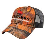 Custom Orange Ridge Camo w/Black Mesh Cap