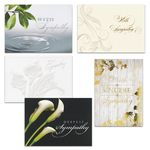 Custom Sympathy Assortment w/ Coordinated Lined Envelopes