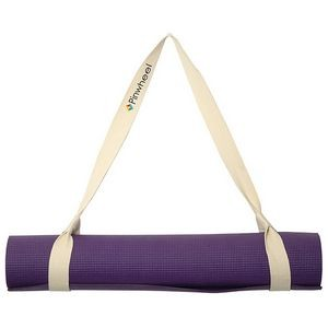 Lotus Cotton Yoga Mat Strap