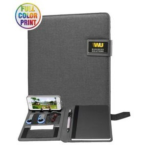 Magnetic Fabric Portfolios (6.5 x 8.75) - Full Color Dome