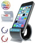 Custom Rounded Cell Phone Stand - Full Color Dome Print Included - NO MINIMUM