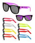 Custom Economy Two Tone Black Sunglasses