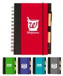 Custom Eco Spiral Notebook Journal w/Pen