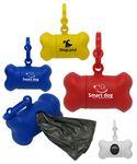 Custom Bone Shaped Dog Waste Bag Holder