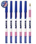 Custom Certified USA Made, Patriotic Flip Flops Designed Twister Deluxe Pen