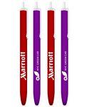Custom Colored Barrels Click Stick Promotional Pen