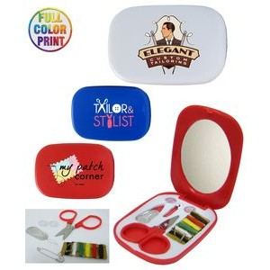 Sewing Kit w/Mirror - Full Color